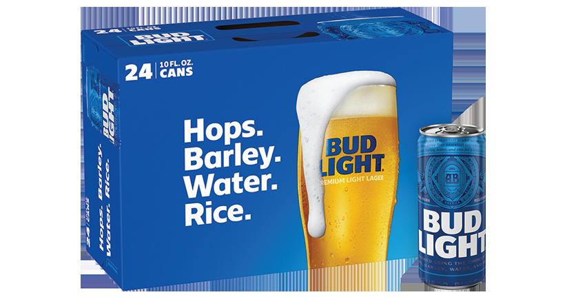 case of Bud Light